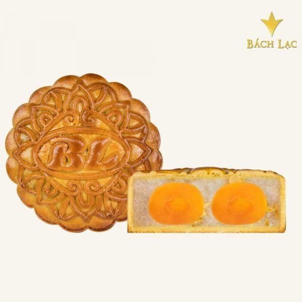 Bánh trung thu dừa sữa hạt dưa 2 trứng 250g