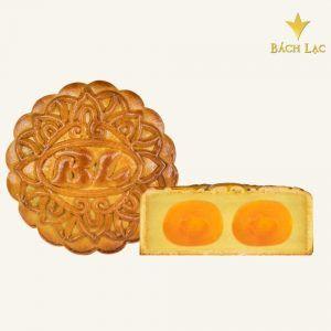 Bánh trung thu đậu xanh 2 trứng 250g